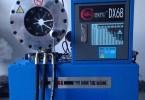 汽车动力转向管路扣管机,汽车水管铁水管冷却管弯管扣管机压管机
