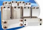 热交换 板式热交换器 热泵、锅炉 区域供热/制冷站 制冷机 制冷系统 钎焊板式热交换器 空气能热水器热泵热水器 热泵机组