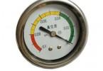 轴向不锈钢真空表/气压表