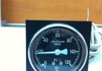 C.WILH.STEIN SOHN HAMBURG水温表0-120度 72x72mm压力表