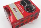 2寸(52mm)机油温度转速表 汽车改装仪表读数 黑壳油温表