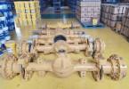 龙工855系列装载机配件 铲车驱动桥总成桥箱类配件供应