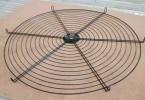 科业厂家 立式电扇网罩 机械防护网片罩 工业风扇防护罩